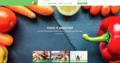 Titelseite Food is Medicine